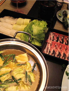 One Garden - Pork Shabu Shabu