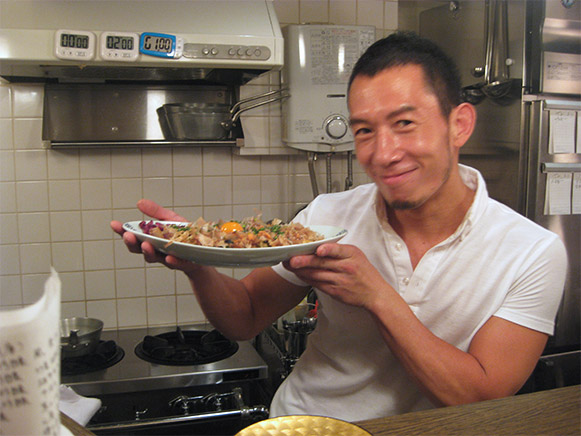 Owner/Chef Mr. Shin Yamochi
