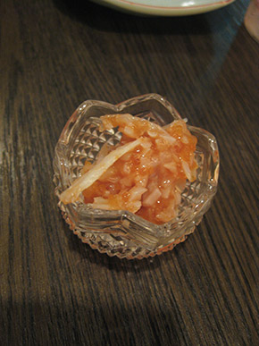 Shark cartilage with Japanese salted plum