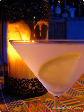 Speical coctail : Vodka Lemongrass Twist