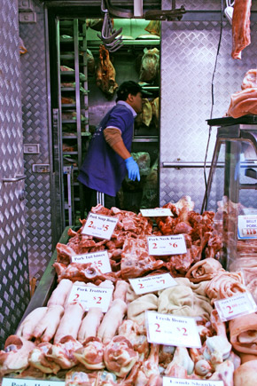 meat section