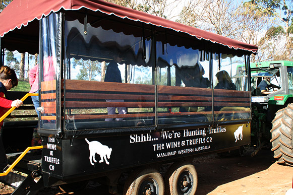 The Wine and Truffle Co trolly