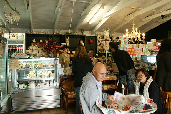 The Margaret River Bakery Inside