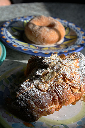 The Margaret River Bakery, almond croissant