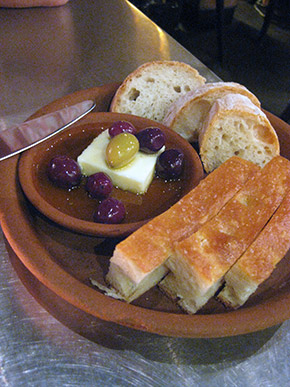 bread and olive
