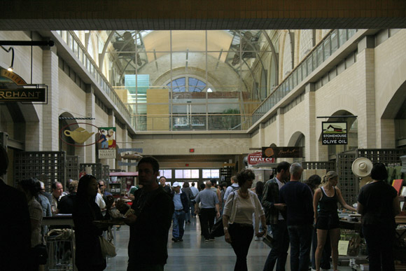 ferry building inside