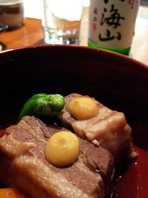 Buta Kakuni (braised pork belly)