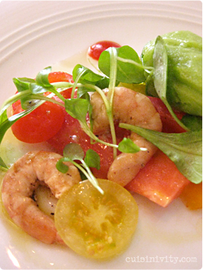 VOLT : laughing bird shrimp flavors of gazpacho