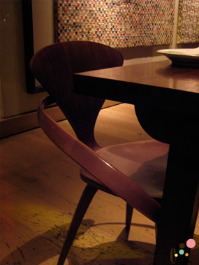 Blue Duck Tavern's Amish dinning chair