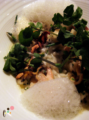 Bourbon Steak's Matsutake Risotto