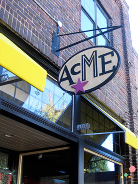 Acme front