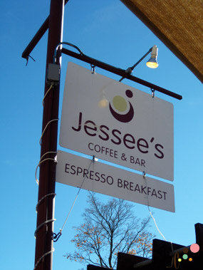 Jessee's front sign