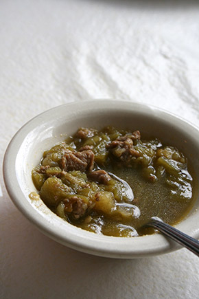 Mary and Tito's green chile sauce