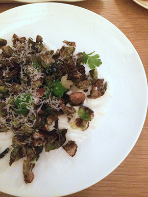 Maysville's Brussels Sprout