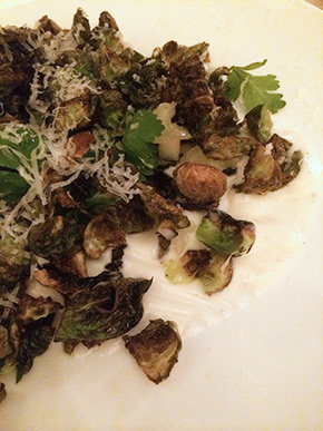 Maysville's Brussels Sprout, closeup