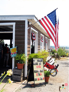 Westmoreland Berry Farm store front