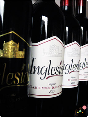 Ingleside windery red wines
