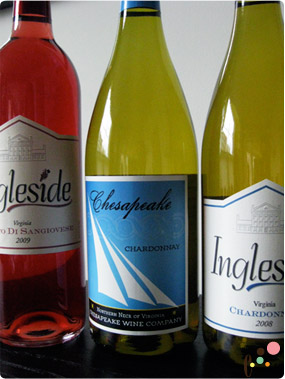 Ingleside winery White and Rose