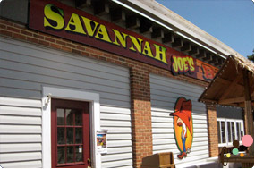 Savannah Joe's BBQ front