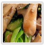 King Mushroom and Pok Choy Stir Fry