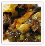 Oxtail pot pie