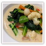 12 Vegetables White Stew