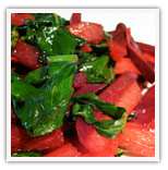 Sauteed Beets and Greens