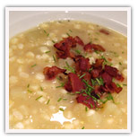 Corn and Yellow Beets Chowder